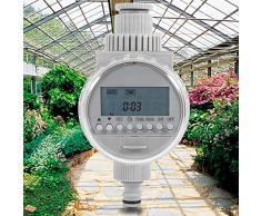 Energía Solar codomoxo LCD impermeable Carlos automático programador electrónico jardín riego controlador digital Intelligence sistema de riego