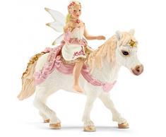 Schleich - Elfa Delicada como el Lirio, sobre Poni, Figura (70501)