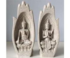 qwert 2 / Piedra Arenisca Estatua De Buda En El Jardín De Esculturas De Piedra Arenisca,02
