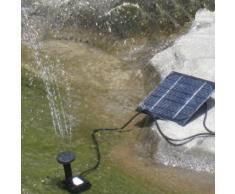 Anself Bomba de agua de energía solar para fuente piscina y jardín riego para las plantas