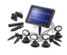 Esotec 102142 Quattro Power - Juego de focos solares