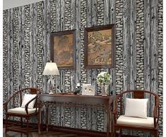 Poowef Wallpaper Papel tapiz de piedra de adoquín de simulación Papel tapiz de pared de fondo de piedra de cultura Rock 3D Hotel,C