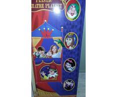 Teatro c/4 marionetas (1 blancanieves, 1 enanito, 1 reina y 1 bruja)