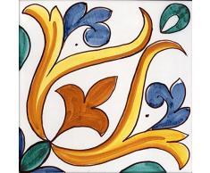 Azulejo De Revestimiento De Cerámica De Caltagirone hecha a mano