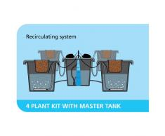 PLANT IT 01-060-040 aeros IV master-System - Sistema de riego por aeroponia