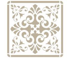 Stencil Mini Deco Fondo 076 Azulejo Iberia 10, Medida exterior del stencil: 12 x 12 cm Medida del diseño: 9,5 x 9,5 cm