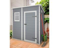 Caseta de resina compra barato casetas de resina online for Casetas pvc exterior segunda mano