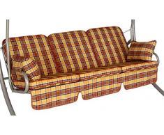 Angerer 785/088 Comfort de balancín, 3 plazas, diseño London
