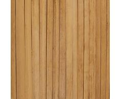 vidaXL Biombo de Bambú 4 Paneles