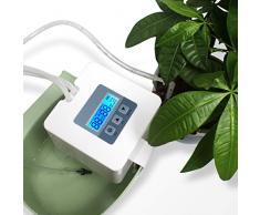 Landrip Sistema de riego automático, DIY Kit de riego por Goteo para Plantas de Interior, Operación de alimentación Micro USB, riego de Las Plantas de Vacaciones