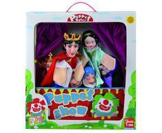 Teatro c/6 marionetas blancanieves