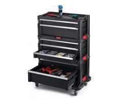 Keter 238557 - Carro de herramientas 7 cajones 60 x 38 x 83 cm