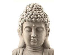 Figura de Buda, escultura de Buda, Jardín Buda meditando, Feng Shui