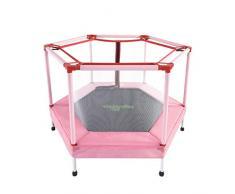 Trampolines de interior Red de seguridad para el hogar de los niños en el trampolín cama de rebote del trampolín de jardín de infantes de interior juguetes de fitness para niños con cama elástica el m