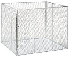 Brista - Recipiente de metal para compost (100 x 100 x 80 cm)