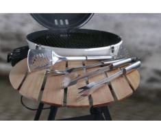 Outdoorchef - Set de utensilios para barbacoa, 3 piezas