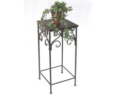Taburete hx12591 soporte para 3 macetas 68 cm cuadrado flores columna mesa mesa auxiliar