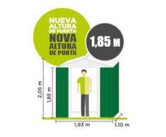 Catral CASETA Metalica Tools Green High Door, Verde