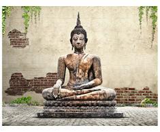 Diseño de Buda de Estatua de la - en varios tamaños a elegir - Papel pintado como papel o de libre de PVC, olor, respetuoso con el medio ambiente Impresión de látex - sin diseño de carteles de papel pintado con imagen de papel