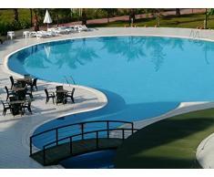 Piscina Color lafazit 2,5 litros azul piscina Color revestimiento Pool Color Pool revestimiento pintura pescado Platillos pescado Estanque Color