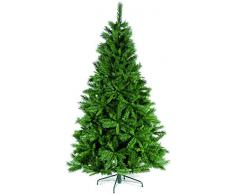 Festive Princess Green Pine - Árbol de Navidad artificial (1,50 m)