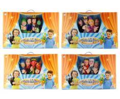 Grandi Giochi - Teatro con 4 marionetas