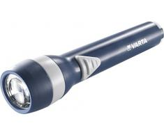 Varta 16600101401 Linterna de plástico ABS, 2AA, 16600 m, Azul, 6
