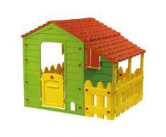 Papillon 8326030 - Casita Juegos de Resina con Porche 118x146x127 cm