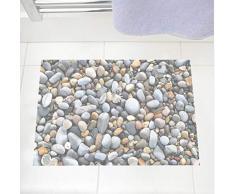 Kyzaa Río Piedra Etiqueta De La Pared 3D Adoquín Impermeable Baño Cocina Decoración Del Piso Pegatinas Diy Única Decoración Del Hogar