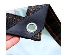 Transparente Impermeable Lona de Protecci/ón Impermeable//A Prueba de Viento//A Prueba de Polvo//A Prueba de Lluvia Exterior PE Toldo Size : 3x4m STTHOME Toldo Exterior Impermeable