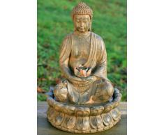 Fuente De Buda 52cm incl. Iluminación, Bomba y decodificar - piedras