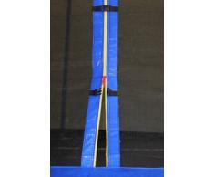 SixBros. SixJump 3,70 M Trampolín de jardín azul examinado por Intertek/GS - CST370/L1723