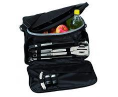 Bolsa térmica con 10 utensilios para barbacoa