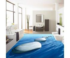 GBHL Piso adherido a la sala de estar 3D empedrado para dibujar azulejo de piso imagen de imagen elegante atmósfera wat, 400x280 cm (157.5 por 110.2 in)