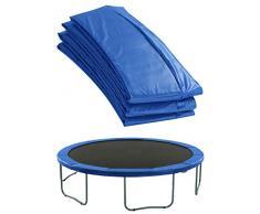 Upper Bounce - Cubierta de Protección para Bordes de Repuesto (Cubre Resortes Muelles) para Cama Elástica Trampolín Redondo 4.57 m - Cerco 25.4 cm - Azul