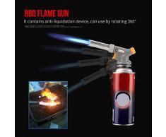 Pistola De Llama Portátil Blow Torch Cocina Gas Torch Fire Maker Para Cocinar Hornear Bbq De Soldadura