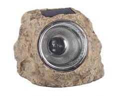 Ranex RA-5000154 - Roca con foco solar LED