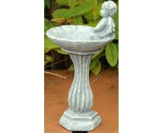 Baño del pájaro miniatura ángel para el jardín de hadas águila Pendeford