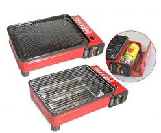 BARBACOA GRILL GAS Transportable Cartuchos de gas 227 ml Camping