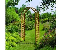 Arco de rosas comprar online tus arcos de rosas baratos - Arcos de madera para jardin ...