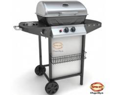 Ruta BBQ – Barbacoa de gas (con placa de cocina de acero inoxidable