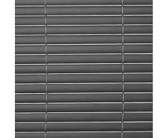 Sol Royal - SolVision Protección visual de pvc barandillas cercas vallas de jardín o terraza - 80x400 cm - Antracita