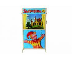 Eichhorn Puppet Theater Booth Guiñol - Juguetes de rol para niños (Guiñol, 3 año(s), 6 año(s), Niño/niña, Multicolor, Madera)