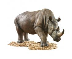 Design Toscano by Blagdon KY71133- Figura decorativa para jardín (resina), diseño de rinoceronte