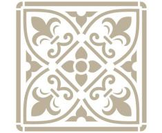 Stencil Mini Deco Fondo 079 Azulejo Iberia 13. Medida exterior del stencil: 12 x 12 cm Medida del diseño: 9,5 x 9,5 cm