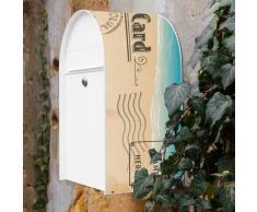 Diseño de buzón Burg Wächter modelo Nordic con diseño: postal