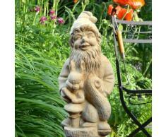 Jardín Grande de ensueño Enano de jardín de piedra - Walter