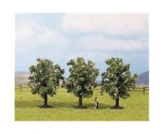 NOCH 25511 - 3 árboles frutales con flores blancas [Importado de Alemania]