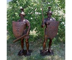 Escultura de - guerrero romano/gladiadores/romanos esculturas - Bertel Thorvaldsen - esculturas kaufen - jardín esculturas de bronce