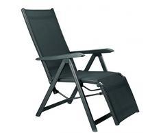 Kettler advantage 0301216-7000 - Silla plegable, básico más relaja la silla, multicolor
